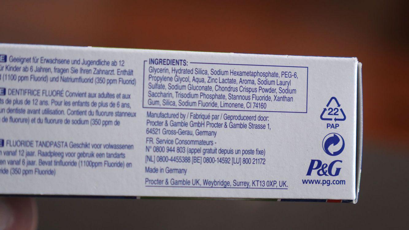 Oral-B Pro-Expert Fraîcheur Saine - Dentifrice à la menthe fraîcheur  extrême en images. ‹ › 89c48fbe808