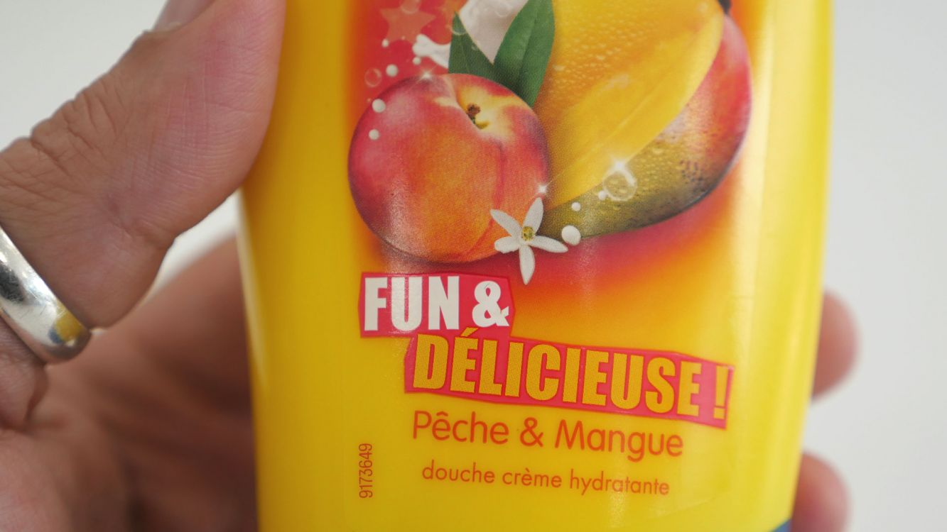 Pêche & Mangue Douche Crème Hydratante Fun & Délicieuse Monsavon