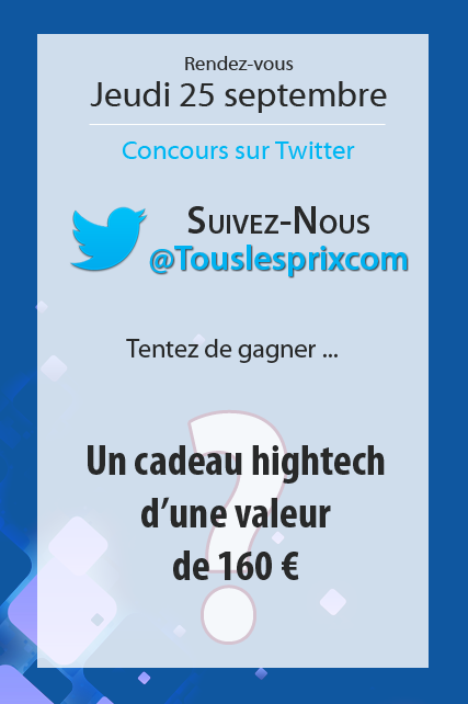 Concours Twitter Touslesprix
