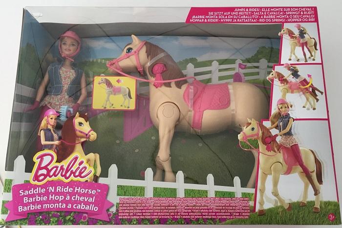 Mattel barbie hop cheval comparer avec - Barbie et son cheval ...