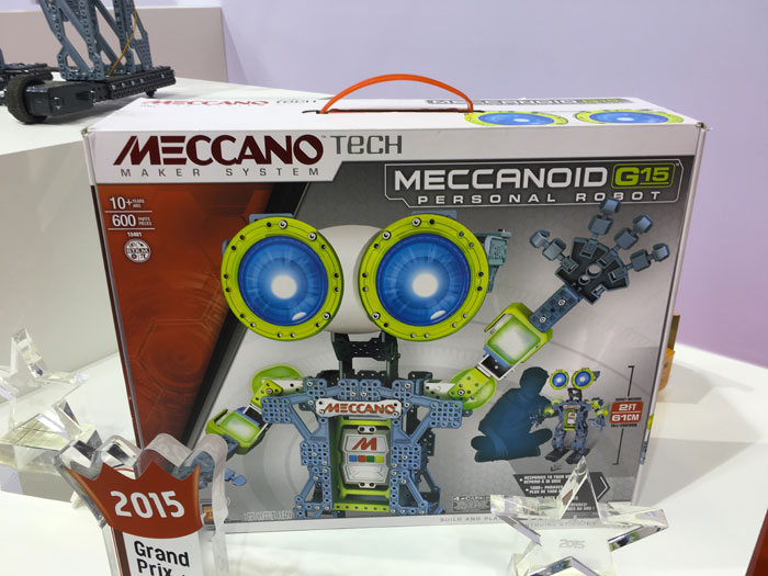 Meccano meccanoid g15 g15 ks grand prix du jouet 2015 - Pieces detachees meccano ...