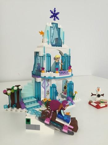 notre avis sur lego 41062 disney princess le palais de glace delsa