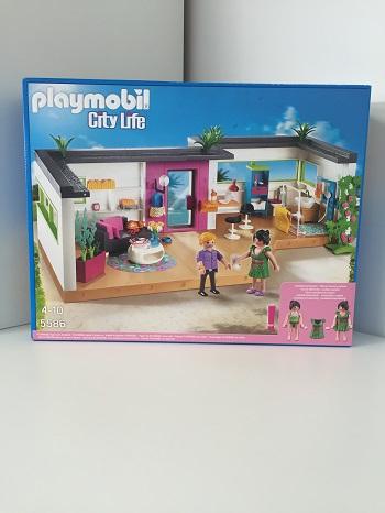 D mo playmobil city life piscine studio des invit s - Piscine moderne playmobil ...