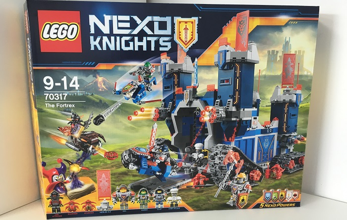 Knights Nexo Lego 70317 Le Fortrex PZwiXuOkT