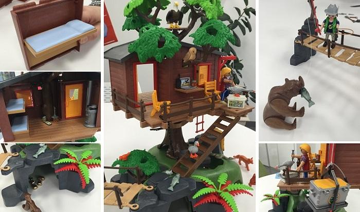 playmobil 5557 wild life cabane des aventuriers dans les arbres comparer avec. Black Bedroom Furniture Sets. Home Design Ideas