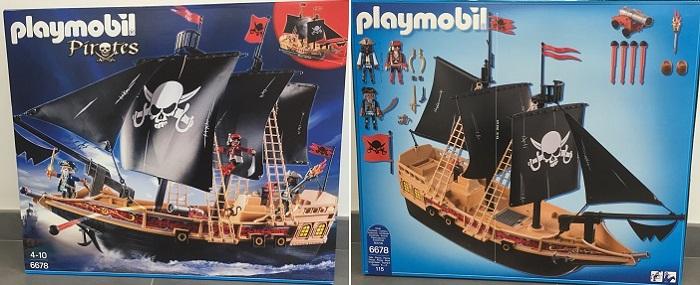 Haut de mat bateau 6678  playmobil Neuf