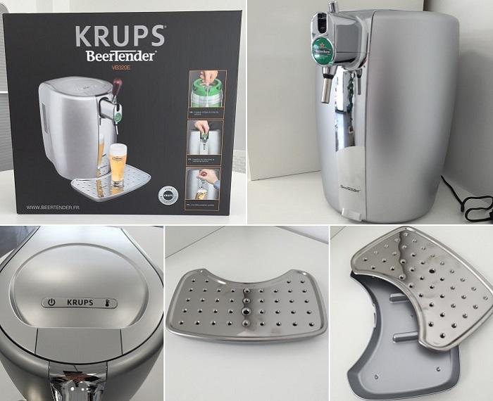 krups beertender vb320e10 tireuse bi re comparer avec. Black Bedroom Furniture Sets. Home Design Ideas