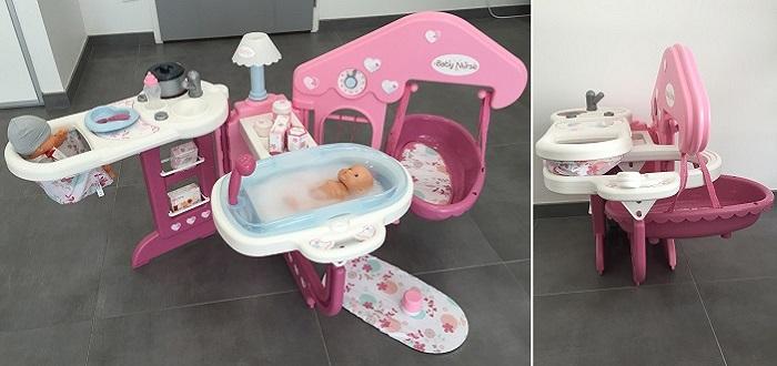 smoby baby nurse maison des b b s 24018 comparer avec. Black Bedroom Furniture Sets. Home Design Ideas