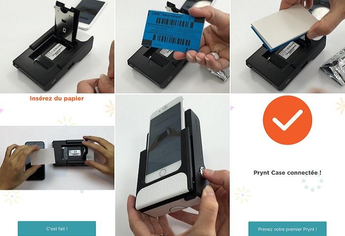 Prynt case imprimante pour iphone 6 6s 10 feuilles for Papier imprimante autocollant exterieur