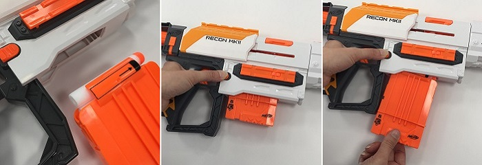 chargeur nerf modulus recon MKII