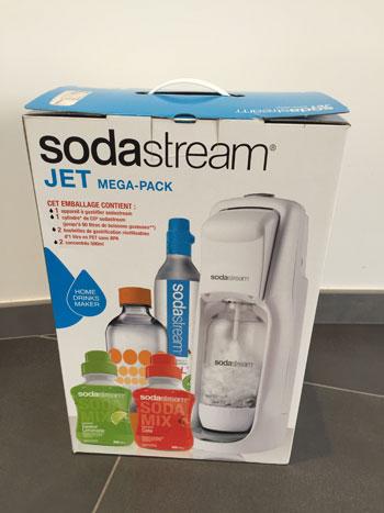 sodastream mega pack jet machine soda comparer avec. Black Bedroom Furniture Sets. Home Design Ideas