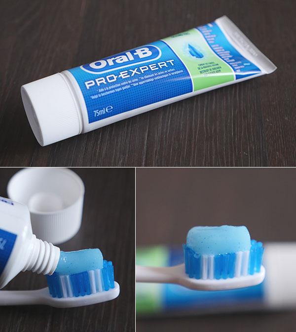 Oral-B Pro-Expert Fraîcheur Saine - Dentifrice à la menthe fraîcheur ... 05e29065e2e